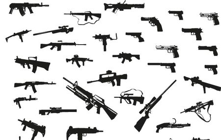 2341-Guns-free-vector-pack