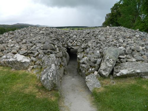 Entrance to Corrimony Cairn