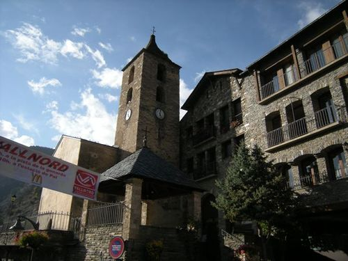 The Ordino church
