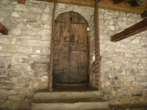 Door at Sant Joan de Caselles