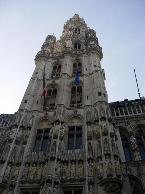 The Spire of Hotel de Ville
