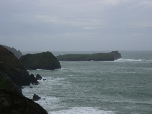 Rocky Cornish coast