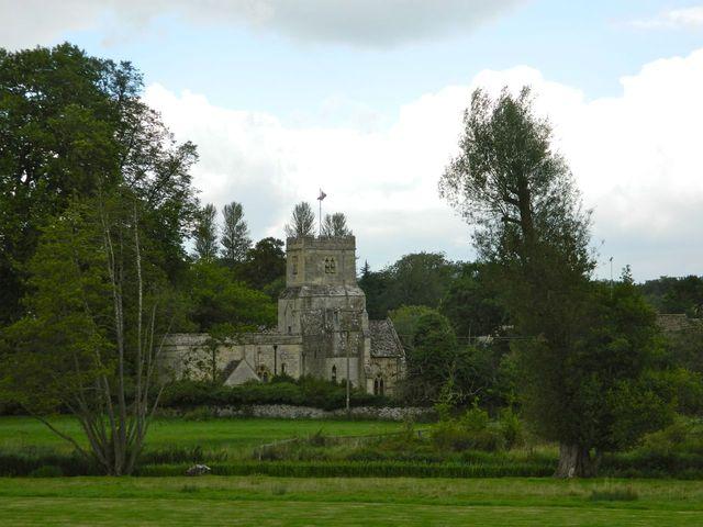 Church near Coln St Denis
