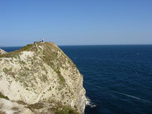 Cliffs near Lulworth Cove
