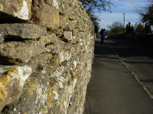 Wall in Fairford