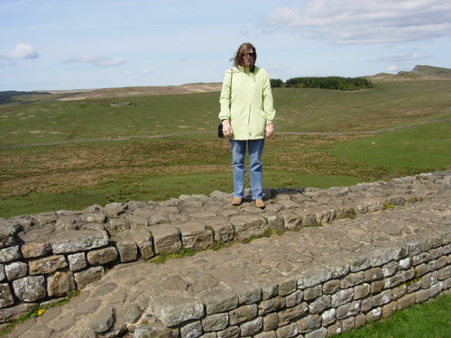 On top of Hadrian's Wall