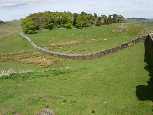 Hadrian's Wall at Housesteds