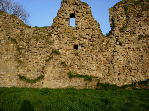 Thirlwall Castle, close up