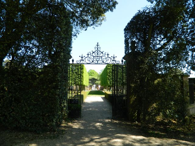 Entrance to the Stilt Garden