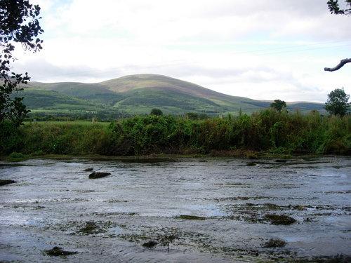 The River Tar, behind Ballyboy House