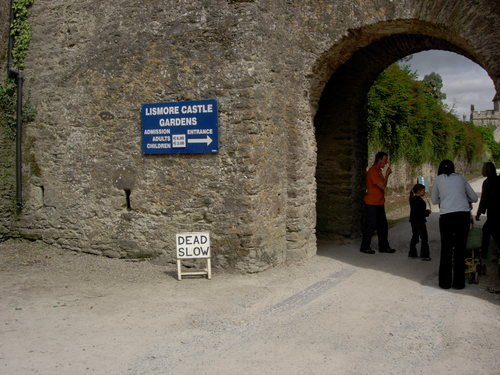 Entrance to Lismore Castle