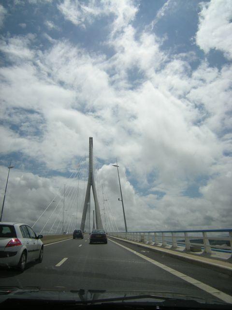 Le Pont de Normandie Bridge