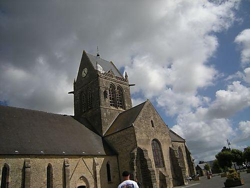 Ste Mere Eglise church