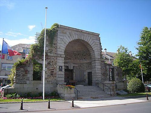 St Lo war memorial
