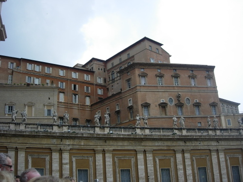 The Pope's house