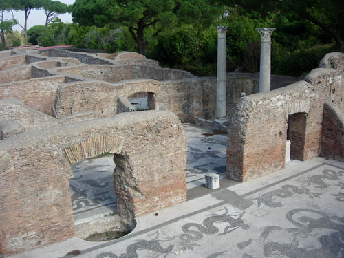 Remains at Ostia