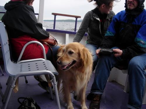 A boat ride!