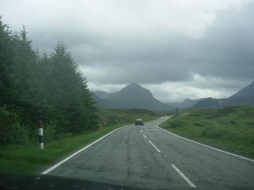 Jagged peak in Skye